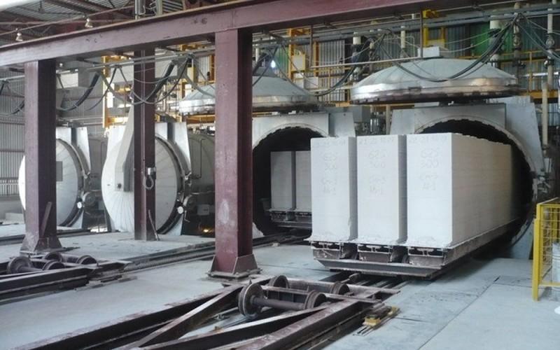 Производственный процесс газосиликатных блоков